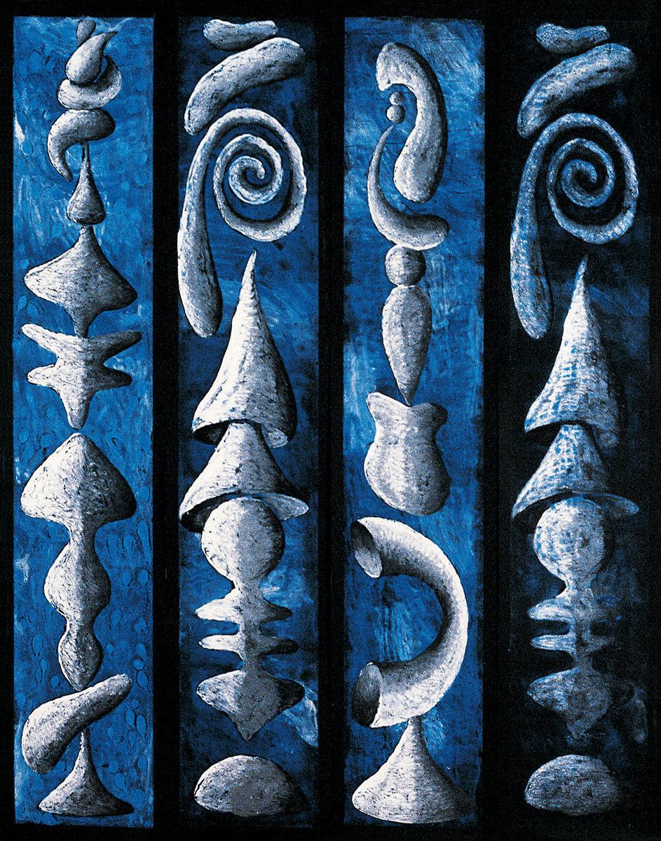 Blue quartet 1989