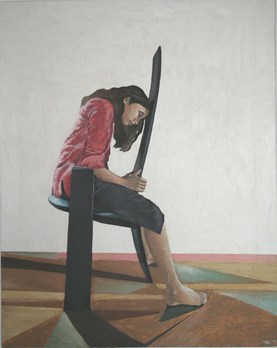 Kathryn seated 1979